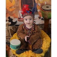 Kızılderili Bebek Kostümü