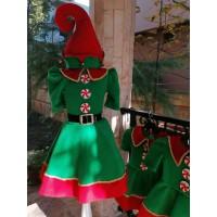 Elf Kız Çocuk Kostümü