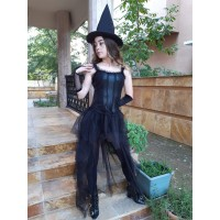 Yetişkin Cadı Kostümü