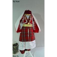 Bolu Kız Çocuk Kostümü