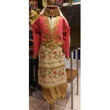 Zeybek Kız Kostümü Pembe