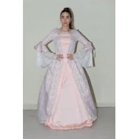 Barok Kadın Kostümü