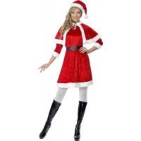 Noel Anne Pelerinli Kostüm
