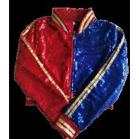 Harley quınn kostümü Çocuk Payetli