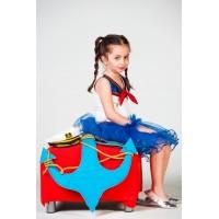Denizci Kız Cocuk Kostümü