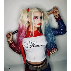 Harley Quınn Yetişkin Kostümü