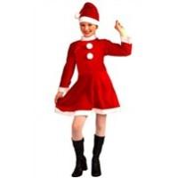 Noel Kız Çocuk Kostümü